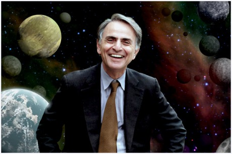 Carl Sagan and Planets